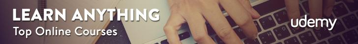 Udemy Top Online Courses