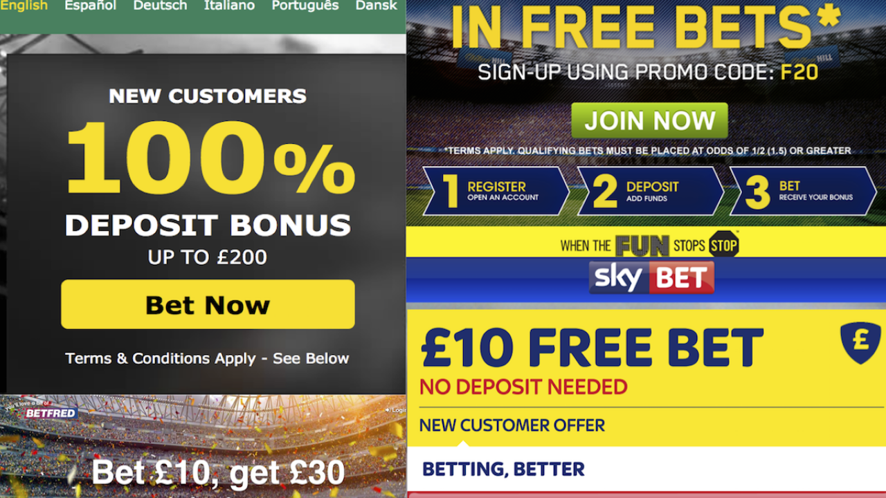 Matched betting bonus bodoglife betting