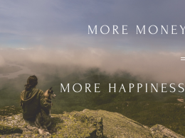 Can more money buy more happiness?