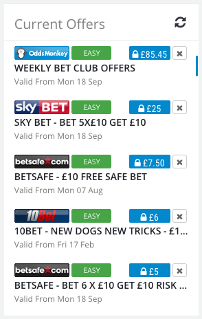 OddsMonkey Daily Offers