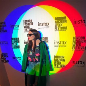 Kate at the London Fashion Week. Combing online with offline marketing tactics to fuel growth