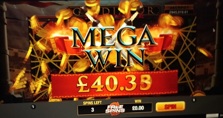 Matched betting slots big win