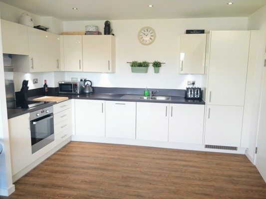 Kitchen shared ownership flat