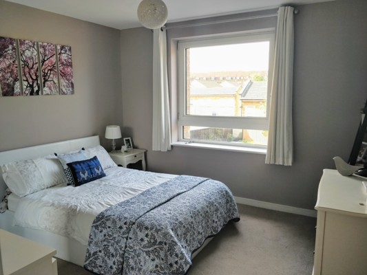 Bedroom 1 shared ownership flat