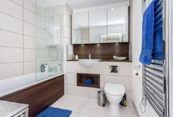 Bathroom shared ownership flat