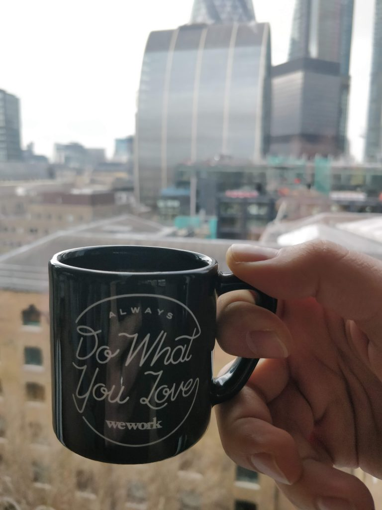 Wework always do what you love