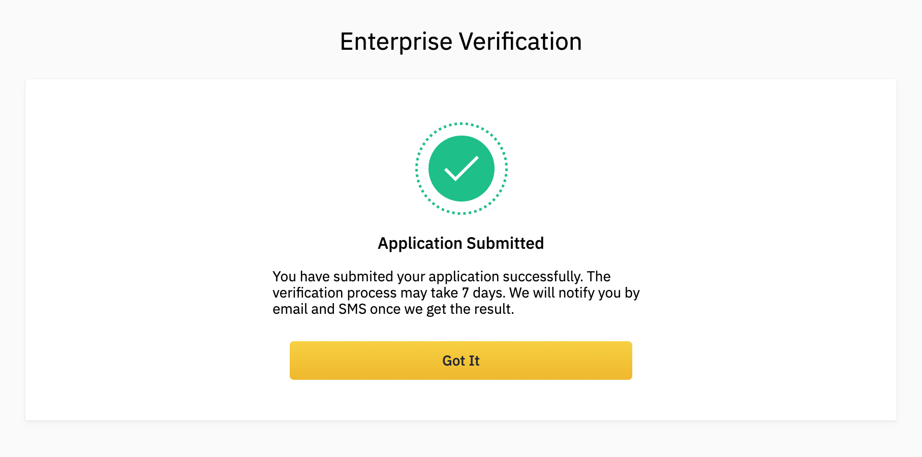 binance-company-verified