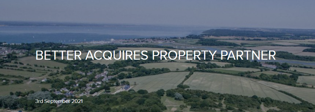 property partner acquired by Better
